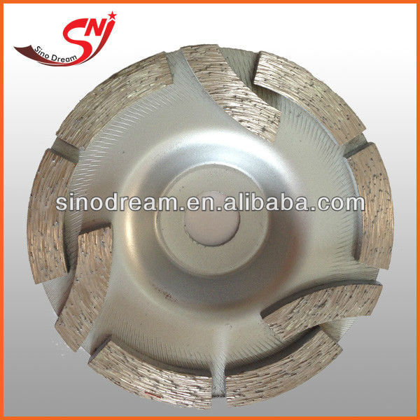 Diamond Grinding Abrasive Cup Wheel For Concrete