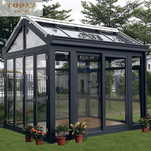 Best price prefabricated glass conservatory and sunroom conservatory