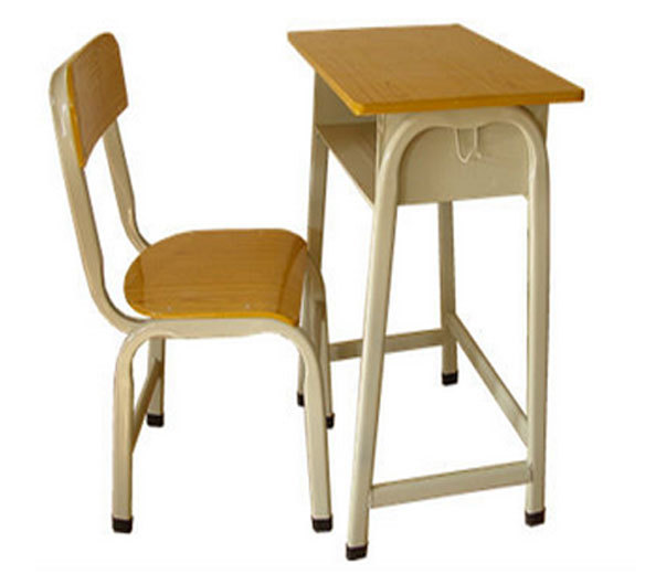 Modern Attached School Desks And Chair Old School