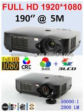 newest and latest advanced media play supporting projector