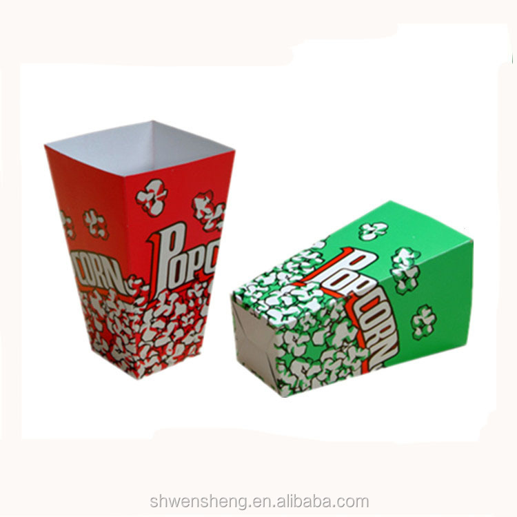 New design Set box for fries , chicken and salad / hot food packing box / food packaging