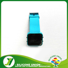 Cheap Silicone Rubber LED Wrist Watch With High Quality