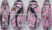 Pink Ladies Golf Cart Bag