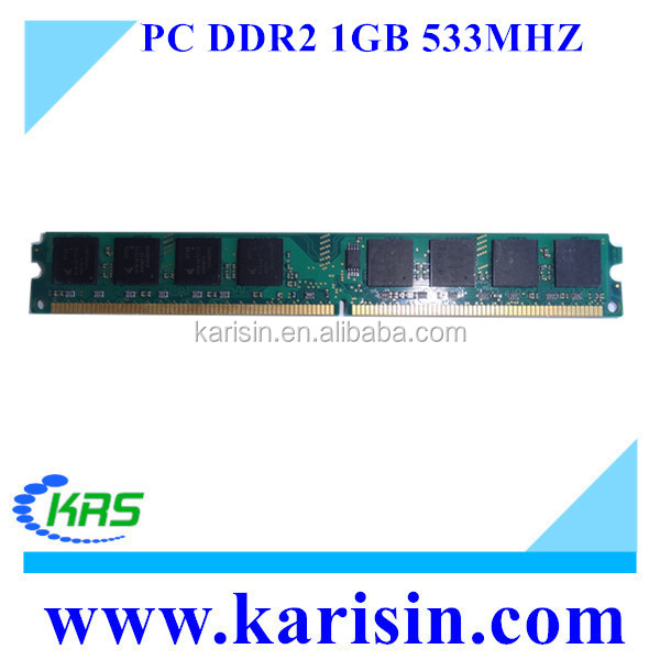 Cheap price PC2-4200 1gb ddr2 module 533mhz for desktop computer