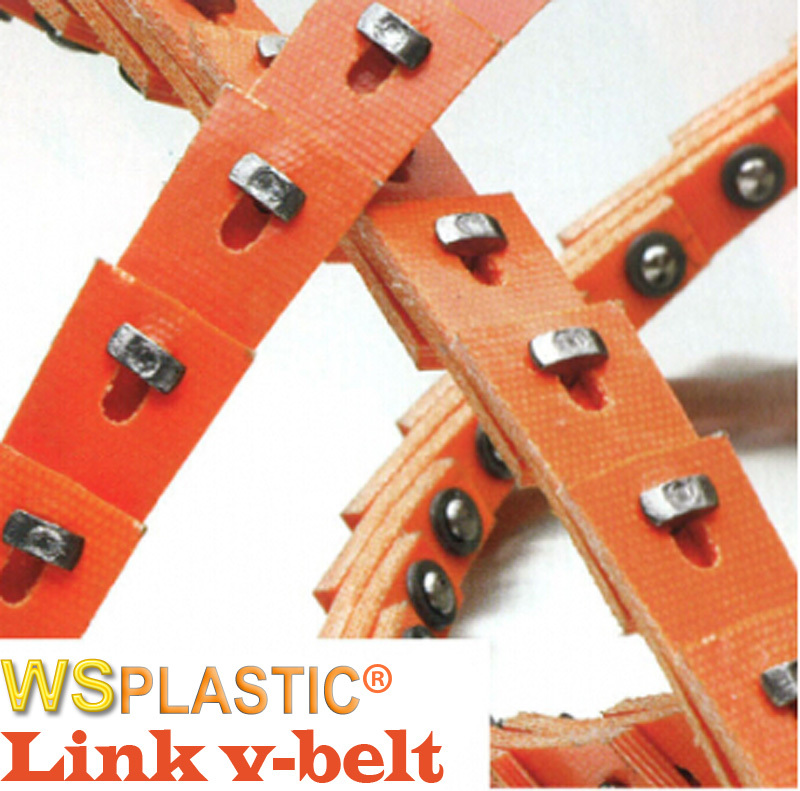 Professional manufacture T link v belt at lowest price