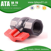 valve manufacturer socket thread good price octagonal valve balls