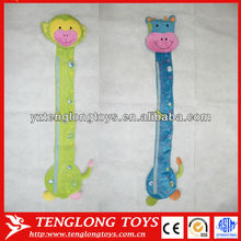 Cartoon Height Charts Baby Growth Recording Animal shaped plush Height Chart