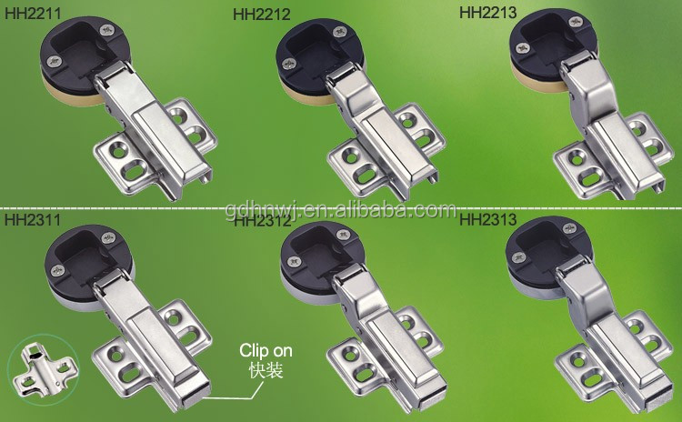 China supplier Full-overlay glass hinge soft close, hydraulic glass hinge