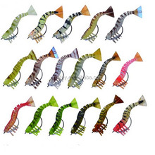 soft plastic prawn lure live shrimp soft fishing lures with hook