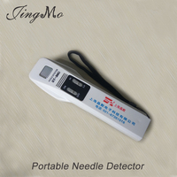 Portable broken needle metal detector for garment and textile