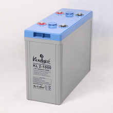 Deep cycle lead acid battery 2V 1000AH AGM in storage batteries for UPS