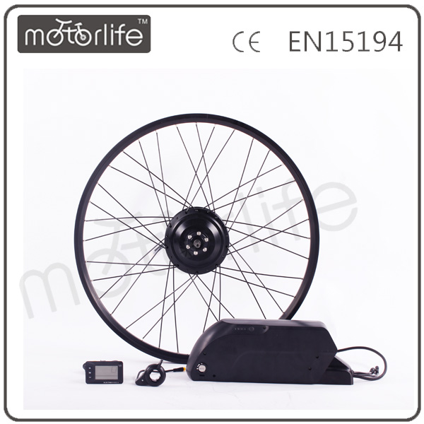 MOTORLIFE/OEM Electricity Small Bicycle Conversion Engine Kit With Battery For Electro Bicycle