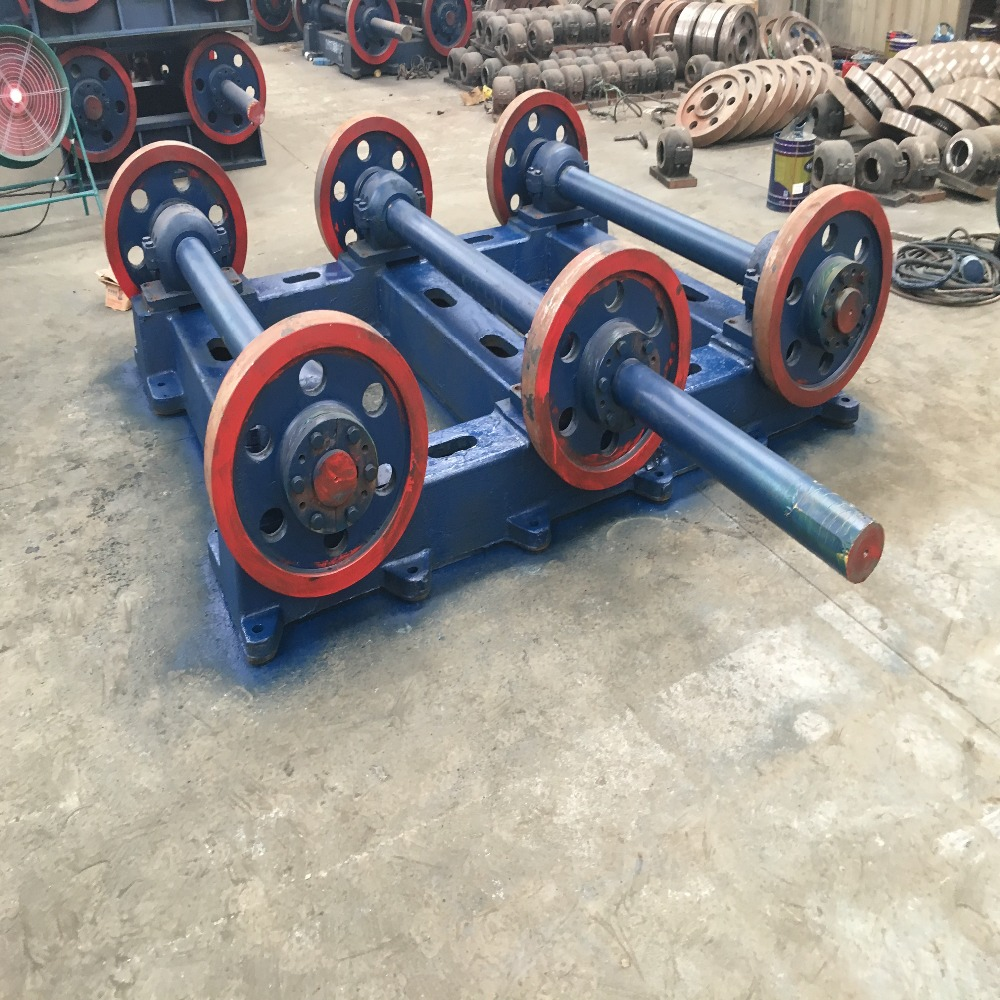 Twin roller centrifuge