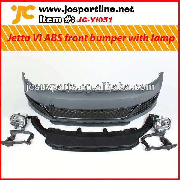 Car ABS front bumper bodykit For VW Jetta VI MK6 GLI body bumper kit