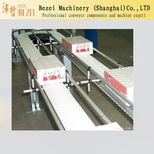 corrugated paper conveyor table top chain conveyor corrugate transporting