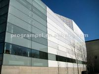 Outdoor Indoor Vitreous Enamel Panel in Building Material