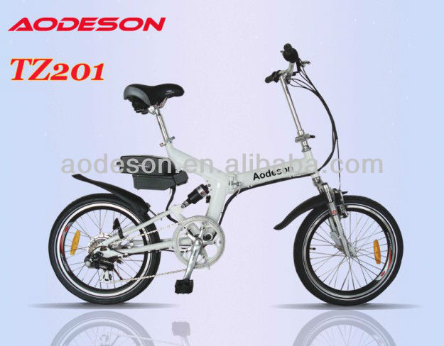 20 inch folding electric bicycle with EN15194 / CE approval - TZ201