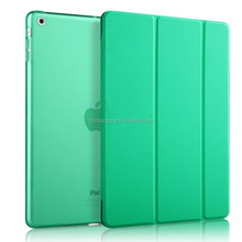 Made in China case for ipad air with stand, Ultra slim Flap Leather Case for iPad air cover