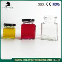 factory made low price top sale mini glass jam jar