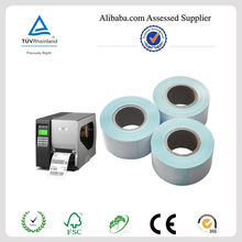 2014 High quality Continuous blank roll label for zebra, CAS with cheap price