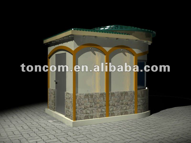 fast food booth