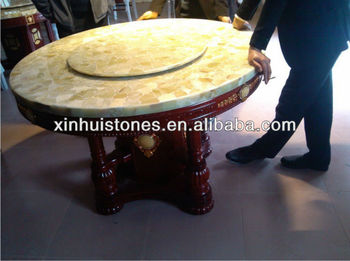 Natural granite and marble stone dinning table