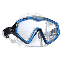 Tempered Glass Diving Mask Wide Vision Swimming Goggles Wholesale
