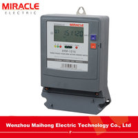 Three Phase Electronic Multi-tariff Watt-hour Meter