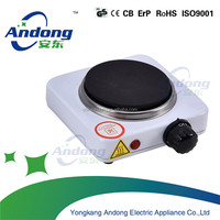 500W single hot plate electric with CE CB for cooking