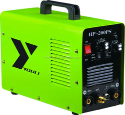 inverter pulse tig 200 welding machine with mma function