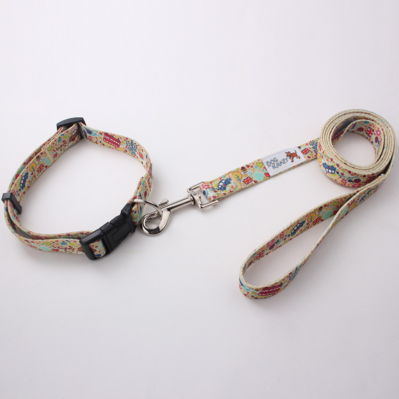 High quality polyester sublimation dog collar pets
