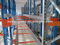 Q235B steel and safety drive-in pallet rack/shuttle pallet rack