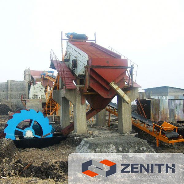 High quality small sand washing machine from China