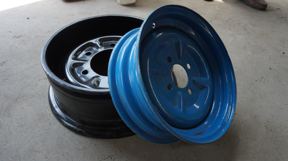 Steel Wheel Rim/Alloy Semi Trailer Rim With Size Optional