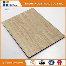 Hot Selling New Design Maple Beech Wood Alike Aluminium Composite Panel / ACP