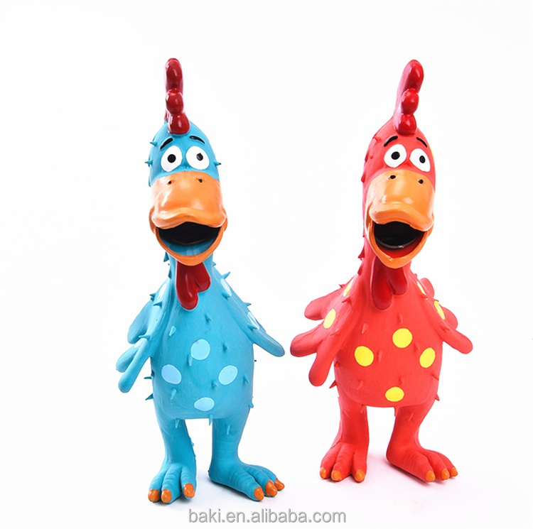 Wholesale Rubber Chicken Toy Latex Toys Vinyl Pet Toy
