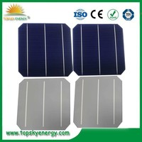 A grade 19.4% Highest Efficiency 4.64W 156mm Mono Crystalline Solar Cell