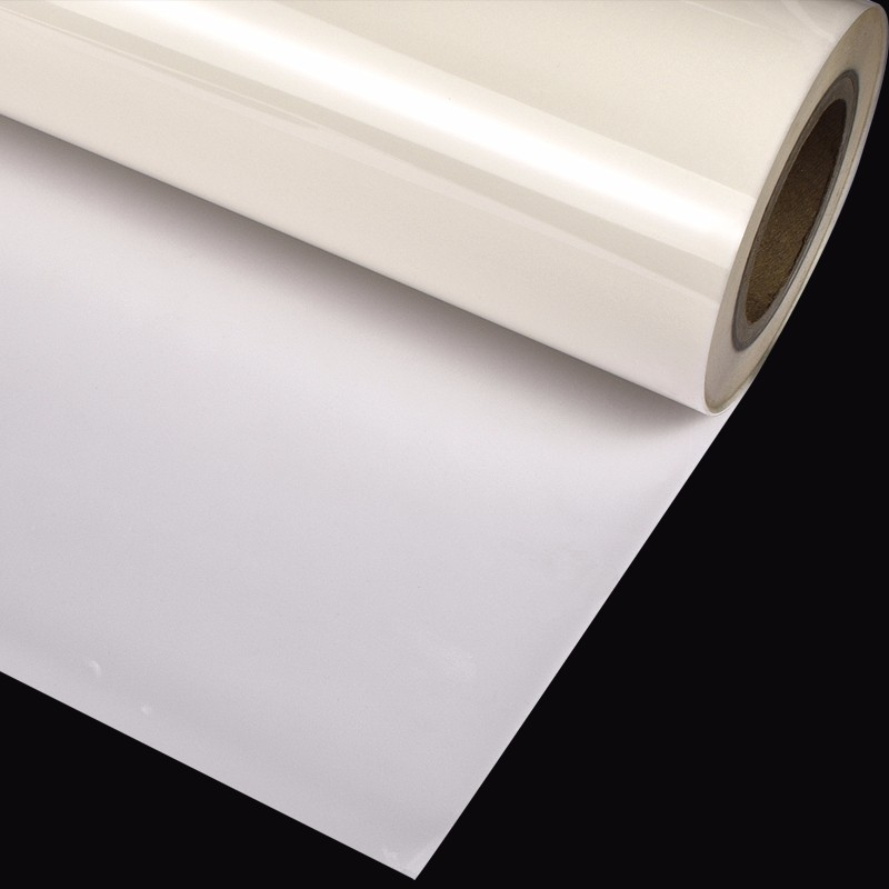Transparent reflective film/reflective film clear for silkscreen printing