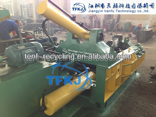 Y81T-1250 Customized Hydraulic steel Scrap Metal Press Baler PLC Control