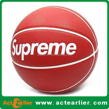 size 7 custom rubber basketball