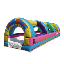 inflatable toboggan slides inflatable outdoor slide with cover G4145
