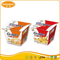 Health Breakfast HALAL Instant Brewing Baked Corn Flakes Cereal Box