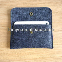 Fashion wool felt mobile phone case