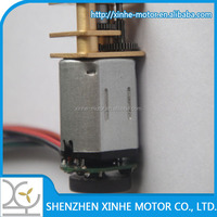DC 3v 6v 12V N20 12mm spur geared motor with gear reduction 1000:1 and ENCODER