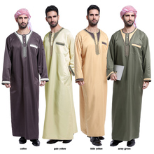 Islamic Kaftan Clothing Maxi Dress Abaya for men cheap kaftan