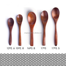 Kitchen Cooking Wooden Wood Soup Spoon for seasoning,honey,Dessert Healthy Wood Spoon Children Tableware