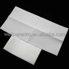 Linen-Feel Guest Towels / Disposable Cloth-Like Tissue Paper Hand Napkins, White Towel