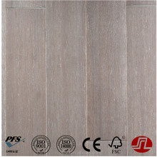Grey Colour Wire Brushed Strand Woven 14mm or 12mm click Bamboo Flooring