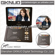 portable dvd player with aoc led tv 9inch
