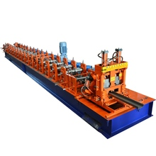 high speed selling well all over the world PPGI/GI/PPGL c u steel 80-300 z purlin roll forming machine